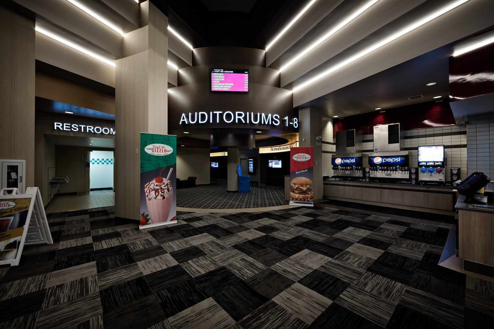 Marcus Theaters | Open Store Remodeling Nationwide | Thomas Grace