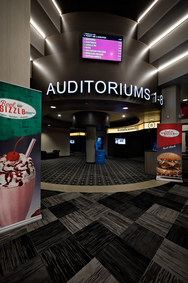 Marcus Theaters   Open Store Remodeling Nationwide   Thomas Grace
